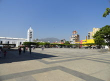 Tuxtla Gutiérrez main square