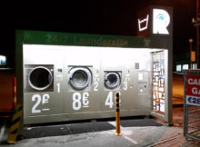 Revolution Wash & Dry self-service kiosk