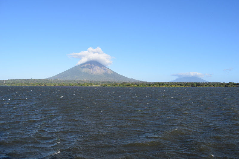 Volcanoes Concepción and Maderas
