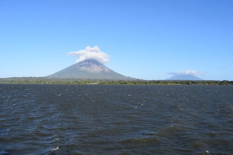 Volcanoes Concepción and Maderas