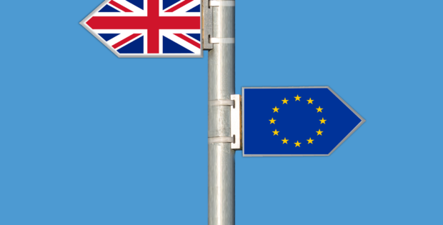 Brexit sign posts image
